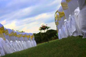 Outdoor wedding ceremony   Simplicity events   Asian Weddings