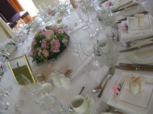 Pink peony wedding centrepiece   Simplicity events   Asian Weddings